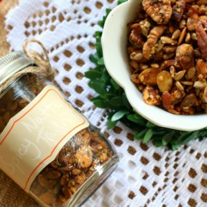 Spicy Nutty Trail Mix
