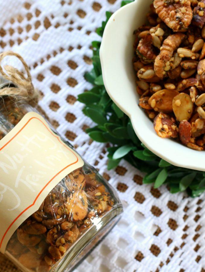 Spicy Nutty Trail Mix