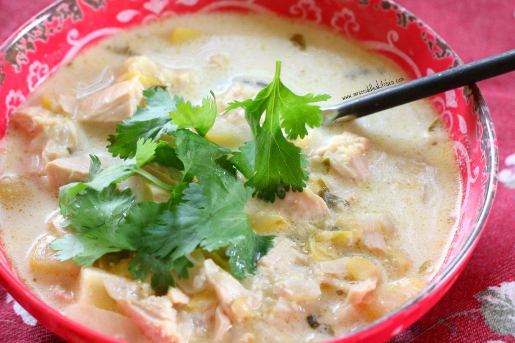 CreamyTurkey Soup