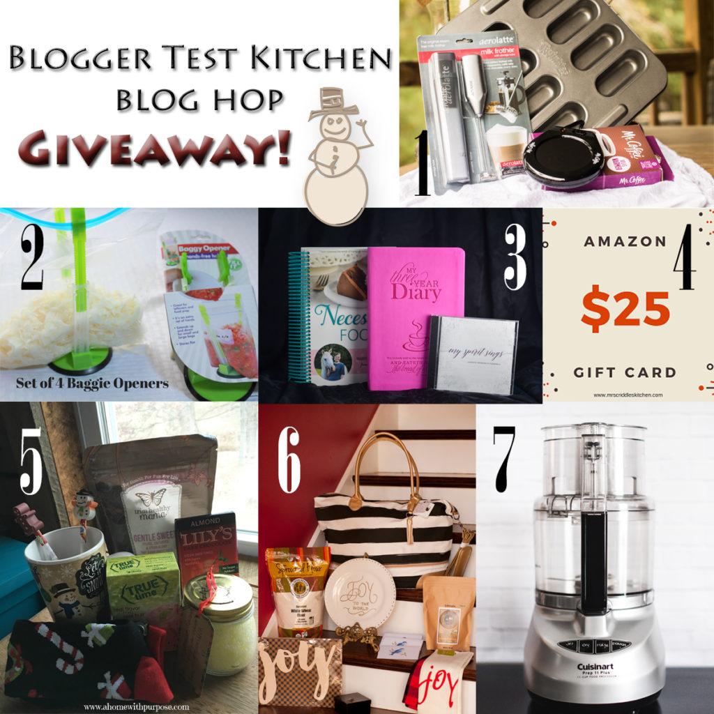 THM Blogger Test Kitchen Blog Hop Giveaway