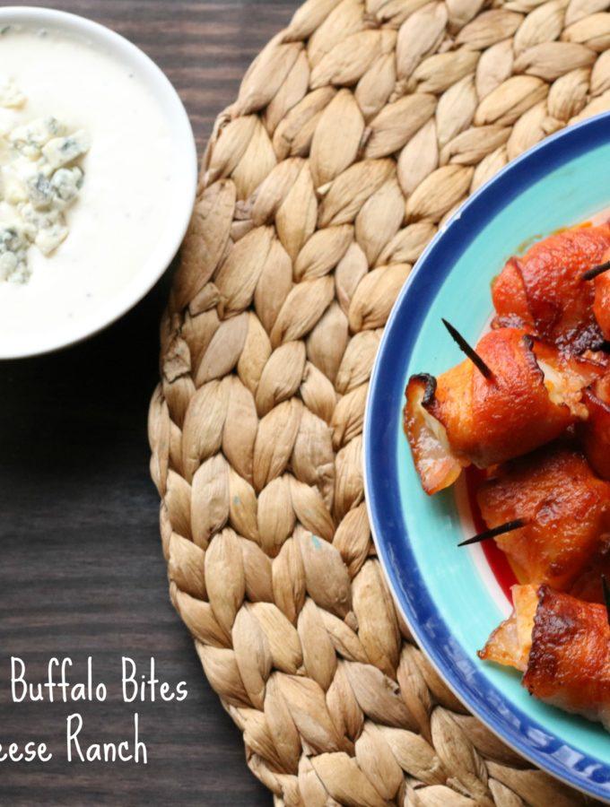 Bacon-Wrapped Buffalo Bites