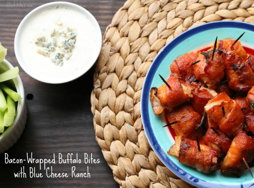 Bacon-Wrapped Buffalo Bites