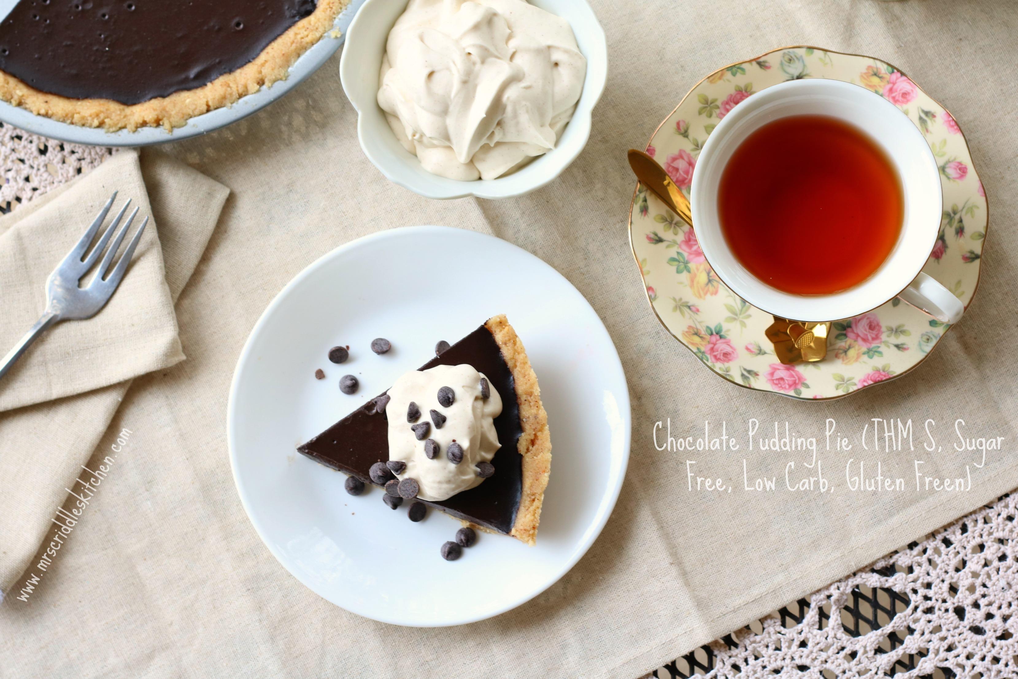 Chocolate Pudding Pie - Mrs. Criddles Kitchen