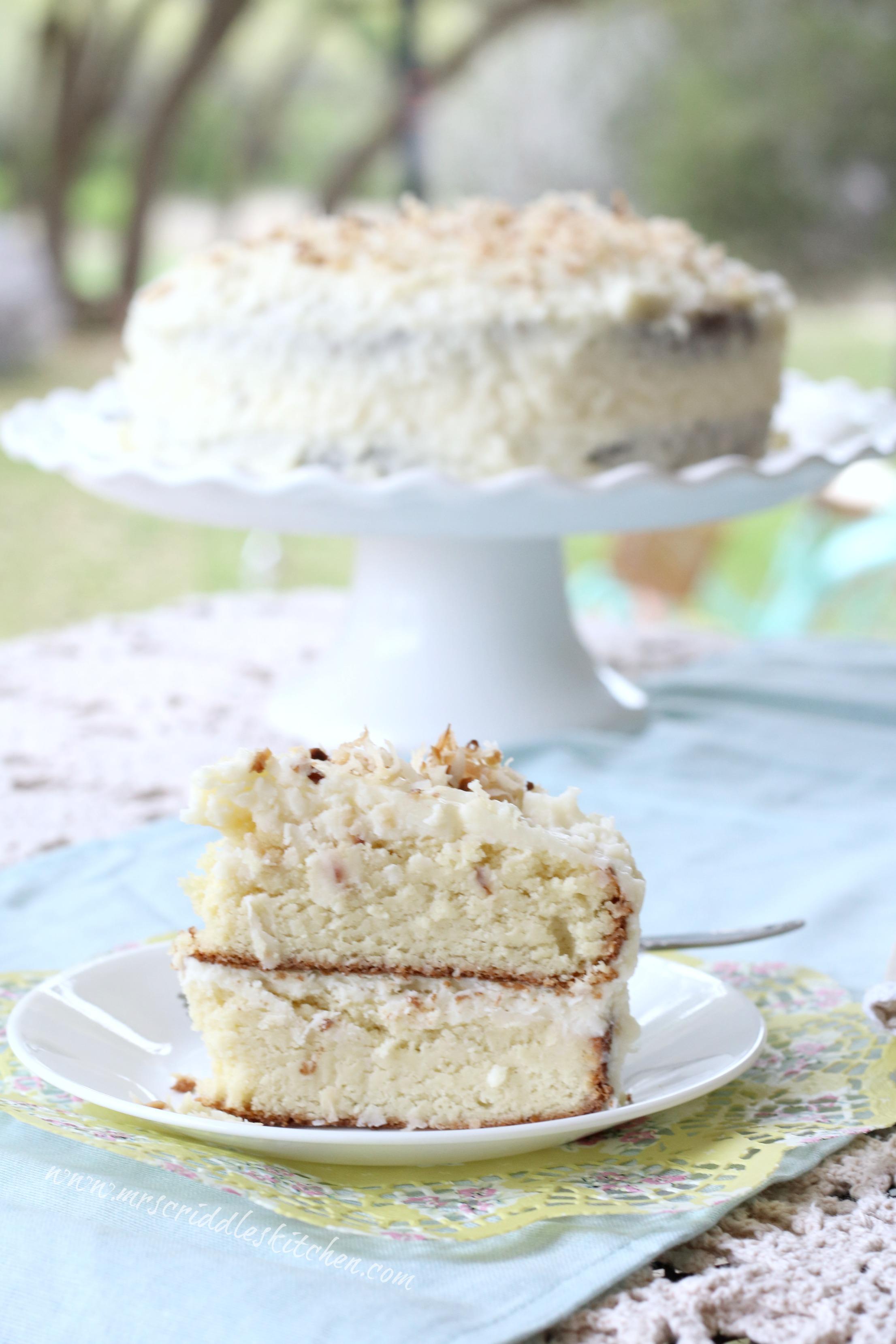 Mrs Criddles Coconut Cake