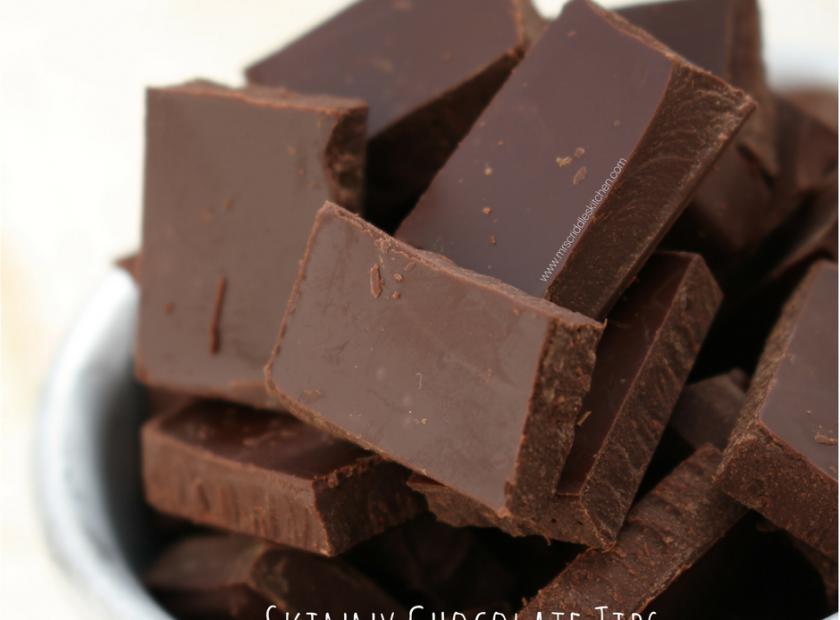 Skinny Chocolate Tips