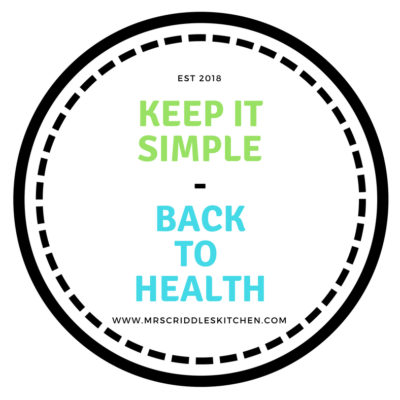 Keep It Simple-Back To Health