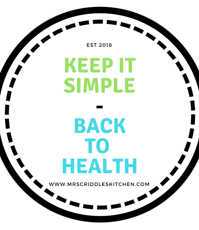 KEEP IT SIMPLE Back To Health