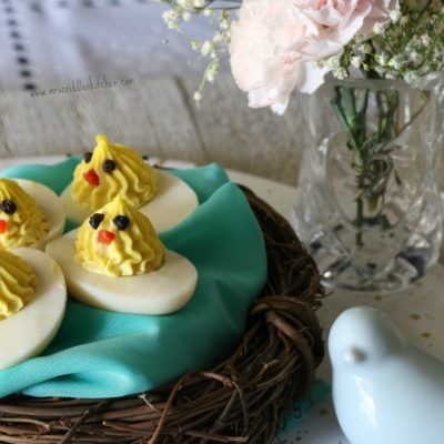 Deviled Chick Eggs