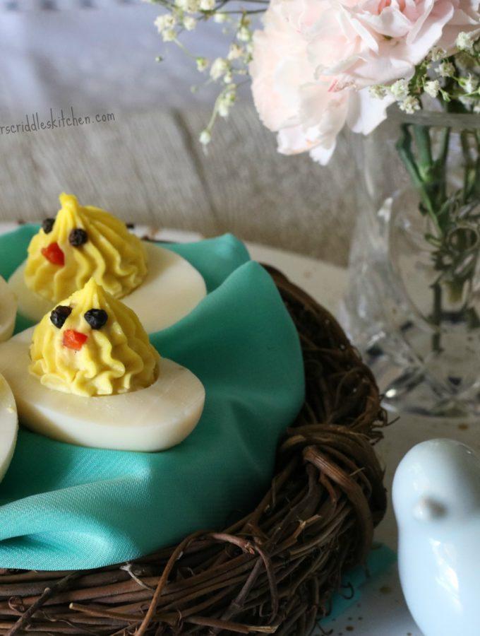 Deviled Chick Eggs
