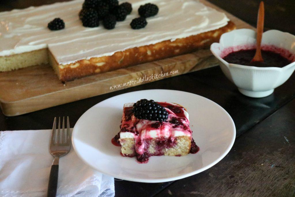 Lemon Blackberry Cake