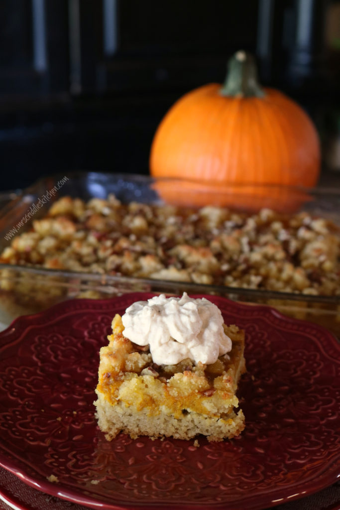 Pumpkin Crumb Cake (THM S, Low Carb)