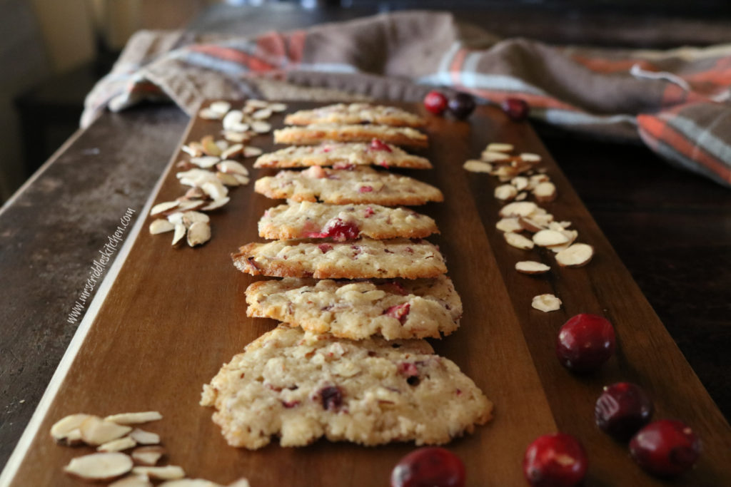 Cranberry Almond Cookies THM S/Low carb/Sugarfree
