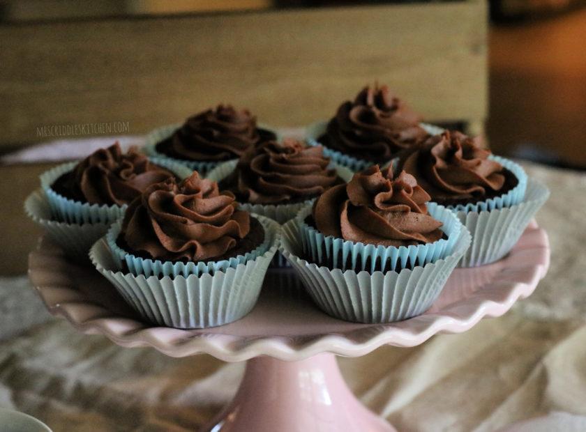 Chocolate Cupcakes (thm s, sugar free, low carb)
