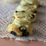 Blueberry Tea Biscuits (low carb)
