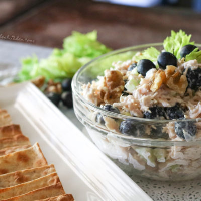 Blueberry Walnut Chicken Salad