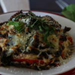 Stuffed Portobello Mushrooms (THM S, Low Carb, Keto)