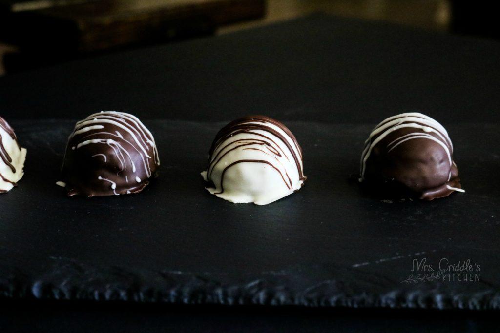 Brownie Truffle Bites- Low Carb, THM S, Sugar-free