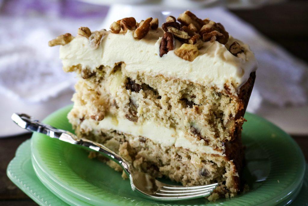 Hummingbird Cake- THM X, Sugar-free