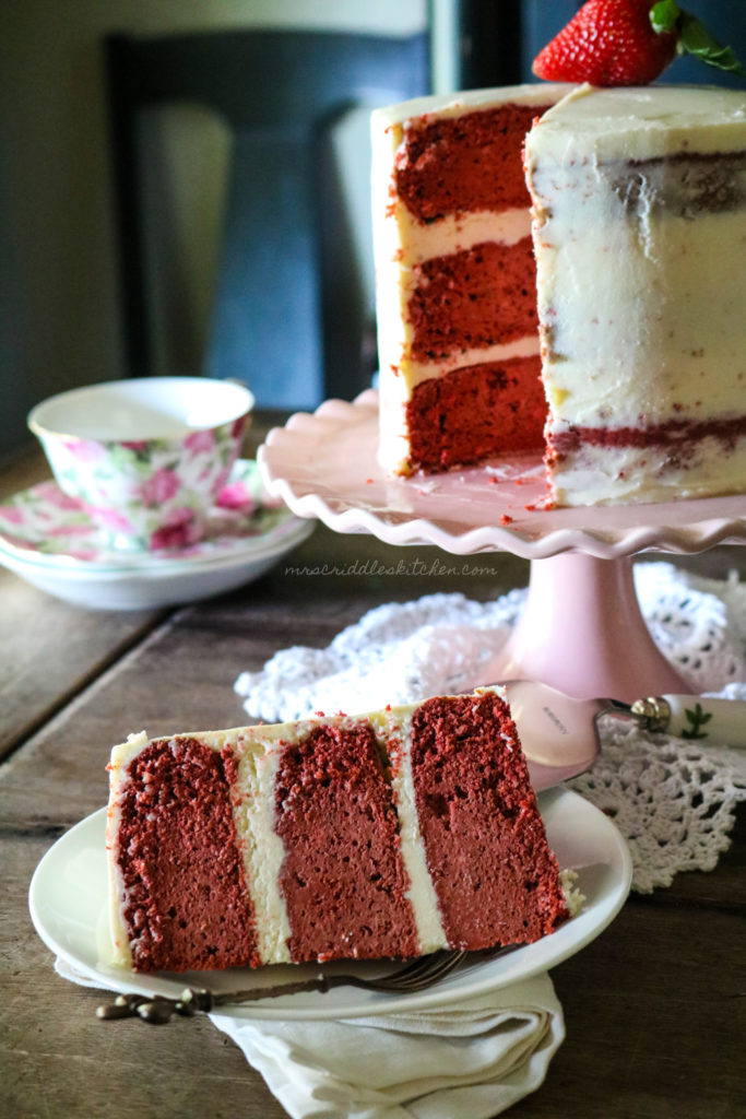 Low Carb Red Velvet Cake- THM S, Low Carb