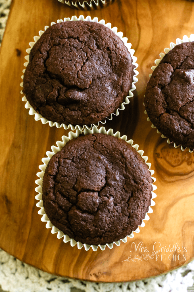 Chocolate Chip Muffins- THM S, Low Carb