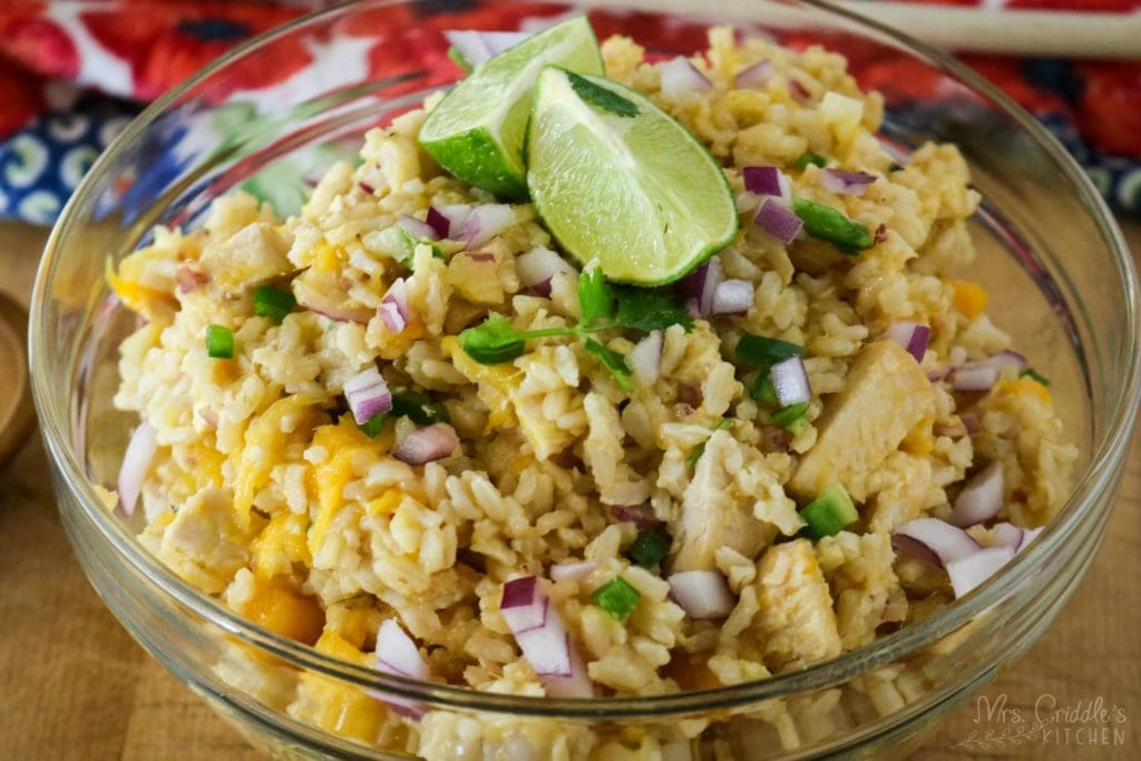 Mango Chicken & Rice- Low Fat- THM E