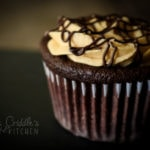Faux Reese's Cupcakes (Low carb, THM S, sugar free)