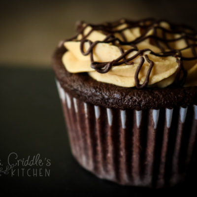 Faux Reese's Cupcakes (low carb/thm s)